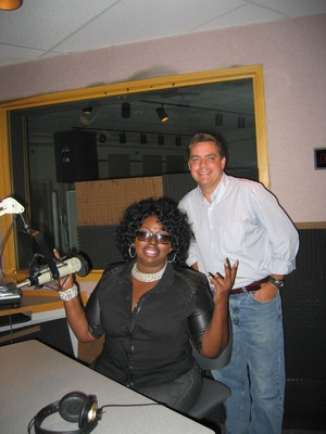 Angie Stone In-Studio