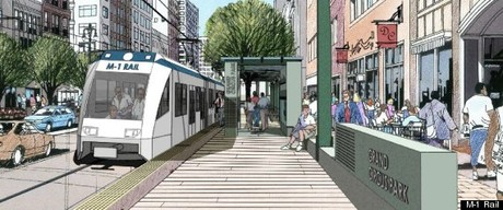 M-1 Light Rail Project