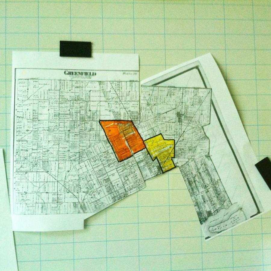 An image that shows Greenfield Township and Hamtramck Township before Detroit annexed around them. Terry Parris Jr.