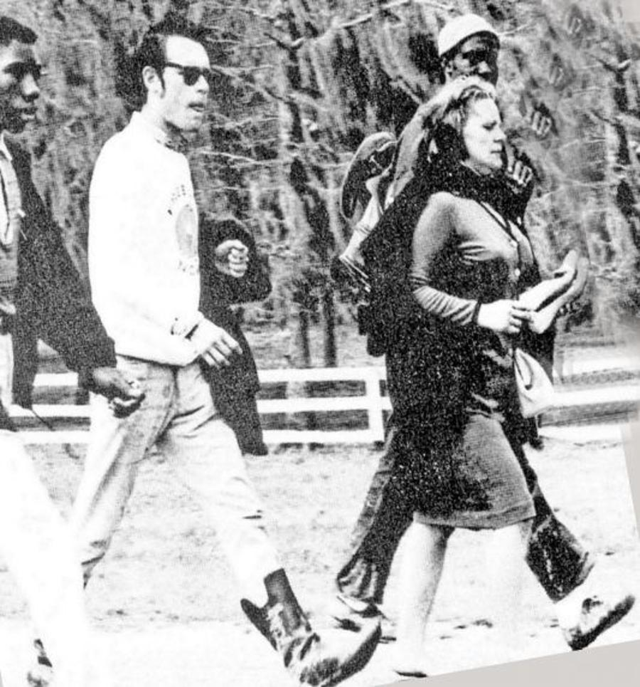 Viola Liuzzo marching in Alabama, 1965.Courtesy of the Walter P. Reuther Library