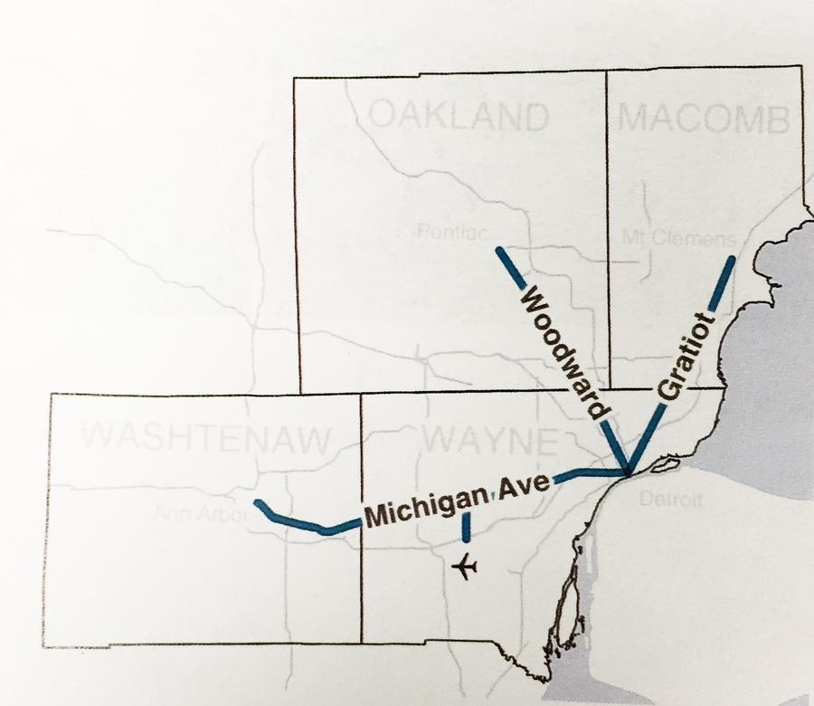 Southeast Michigan39s Regional Transit Authority Working On