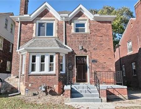 The Detroit Land Bank Authority is selling this house at 17397 Monica.Detroit Land Bank Authority