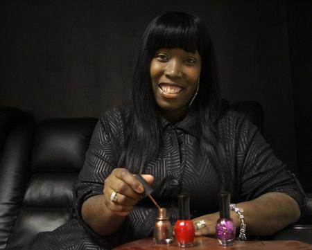 "Ayanna Williams, Co-Owner ""Pedicure & Shoes 2 Go,"" scheduled to open downtown in December 2015Kaitlin Nicole Fazio"