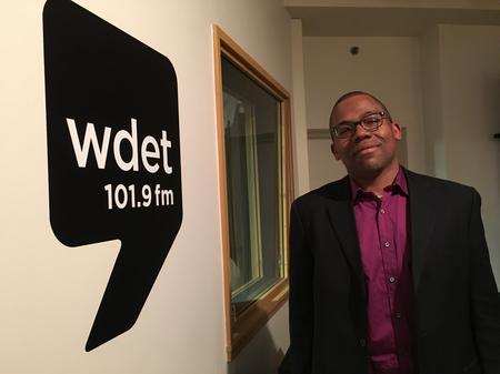 U of M Men's Glee Club Conductor Eugene RogersJake Neher/WDET