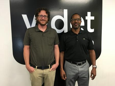Wayne State University Sociologist Dr. David Merolla (left) and Oakland Schools' Dr. Jay Marks (right)Jake Neher/WDET