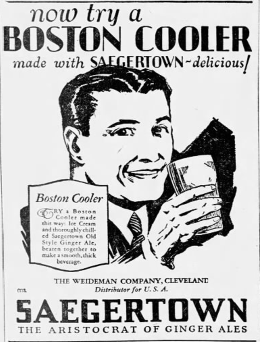 A Saegertown Boston Cooler, one of the earliest examples of the drink as we know it today.Eli Newman / WDET