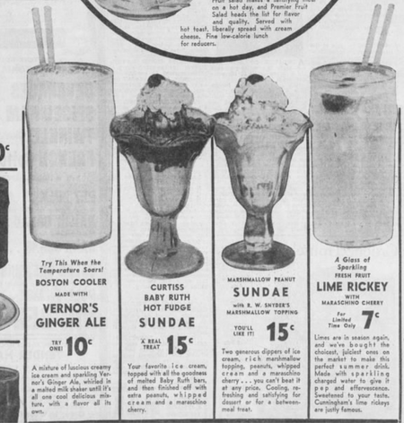 An ad for a Vernor's Boston Cooler, Detroit Free Press 05/29/1939Eli Newman / WDET