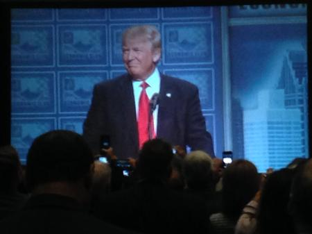 President-elect Donald Trump at the Detroit Economic ClubRick Pluta, MPRN