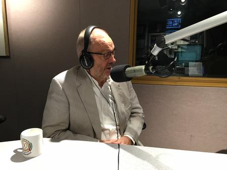 "Bob Berg on ""Detroit Today"" earlier this year.Laura Weber Davis/WDET"