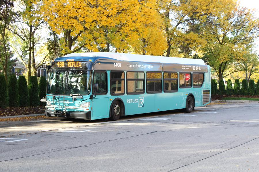 One of the new RefleX buses.Laura Herberg / WDET