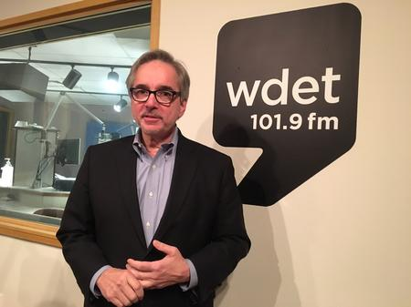 Elliot Wilhelm has been the director of the Detroit Film Theatre since 1974. It's located inside of the Detroit Institute of Arts.Jake Neher/WDET