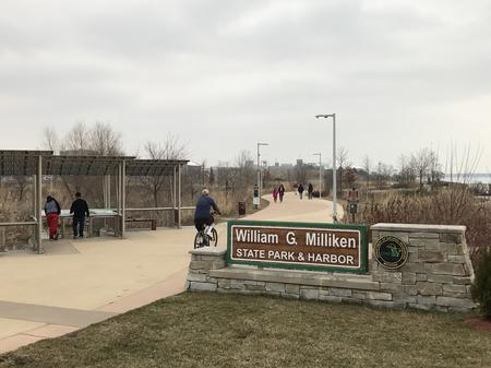 Milliken State Park sits on Detroit's riverfront.Pat Batcheller