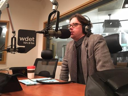 Carleton Gholz, founder and executive director of the Detroit Sound Conservancy, which has been working to preserve United Sound SystemsJake Neher/WDET