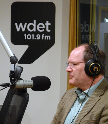 Eric Lupher in a previous conversation with WDET.Michael Ference WDET