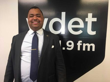 Detroit mayoral candidate state Sen. Coleman Young II (D-Detroit)Jake Neher/WDET