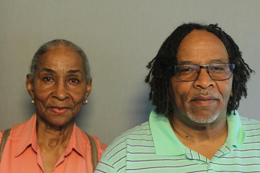 Clarice Rodgers and her son Curtis Rodgers. Curtis was 14 years old when he witnessed looting on July 23, 1967.StoryCorps