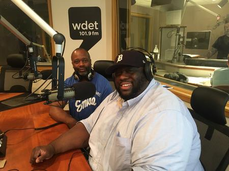 Theaster Gates Jr. (left) and James Feagin (right) join Detroit Today with Stephen HendersonJake Neher/WDET
