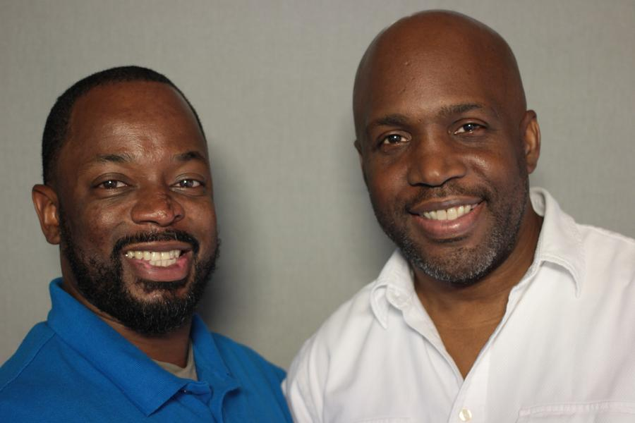 "Damon ""Magic"" Percy and Curtis Lipscomb.StoryCorps"