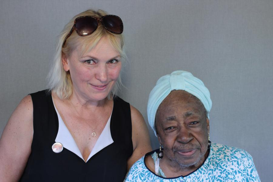 "Tate Osten and Myldret ""Bernice"" LeatherwoodStoryCorps"