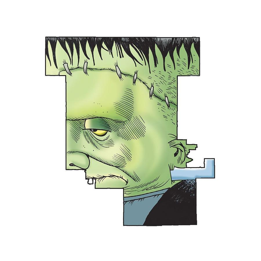 Thompson's depiction of Michigan's 4th Congressional District as Frankenstein's Monster.Courtesy of Mike Thompson/Detroit Free Press