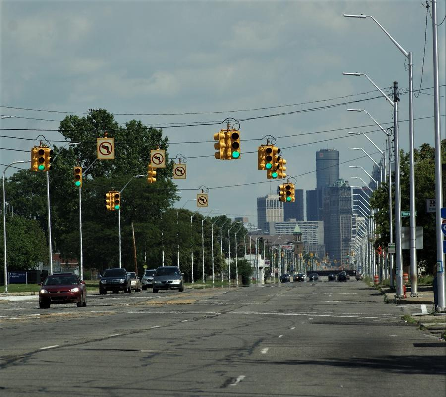 Some residents wonder if investment in Detroit's downtown will stretch to the city's neighborhoodsDawn Uhl-Zifilippo/WDET
