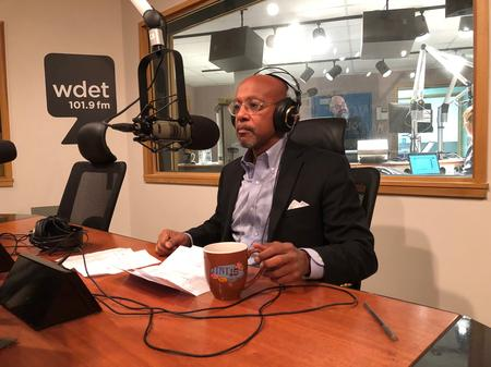 City of Detroit Corporation Counsel Butch HollowellJake Neher/WDET