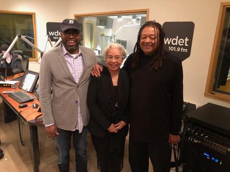 From left to right: Stephen Henderson, Melba Boyd, and Quincy TroupeJake Neher/WDET
