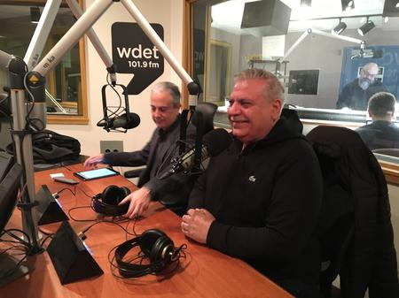 Hayg Oshagan (left) and Osama Siblani (right)Laura Weber Davis/WDET