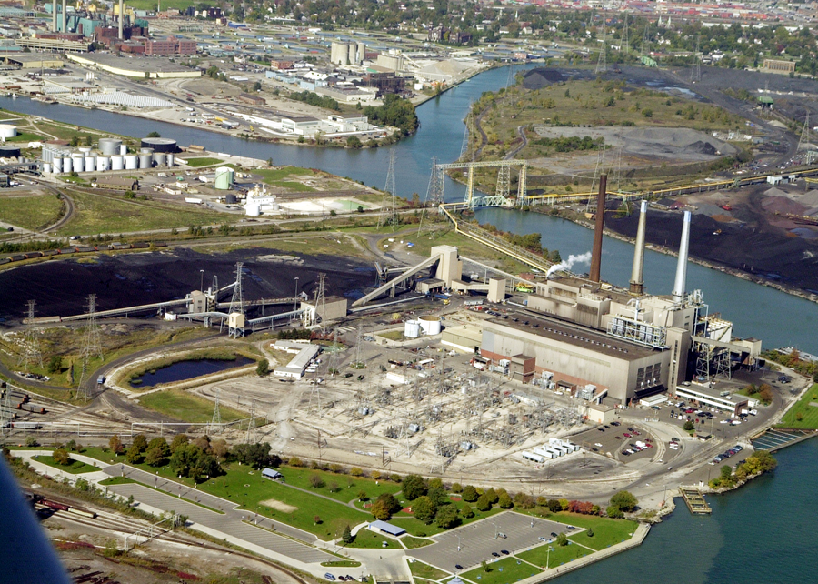 DTE officials say they plan to retire some coal-fired power plants by the mid-2020's.Courtesy of DTE Energy