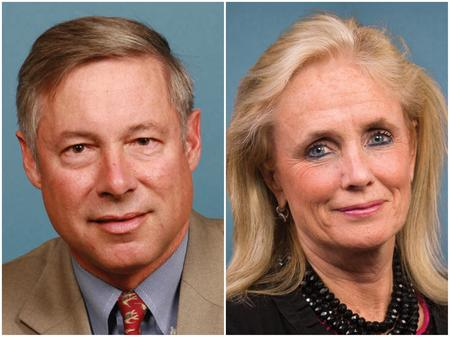 Rep. Fred Upton (left) and Rep. Debbie Dingell (right)U.S. House of Representatives