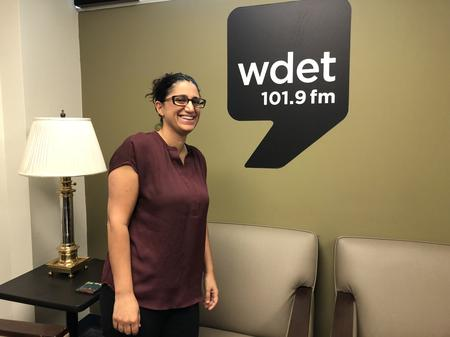 Dr. Mona Hanna-Attisha joins WDET's Detroit Today with Stephen HendersonJake Neher/WDET