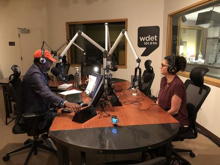 Dr. Attisha on Detroit Today with Stephen Henderson.Jake Neher/WDET