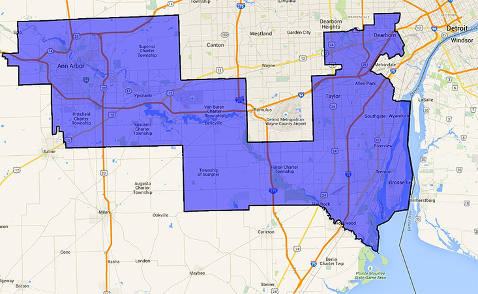 Michigan's 12th Congressional District includes Ann Arbor, Dearborn and Downriver.jeffjones4congress.com