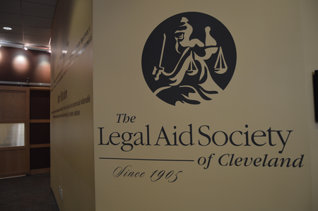 The Legal Aid Society of Cleveland is working on a program that could eventually guarantee right to counsel for all tenants facing eviction.Jake Neher/WDET