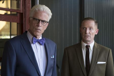 "Marc Evan Jackson (right) as Shawn on ""The Good Place"" on NBC.NBC"