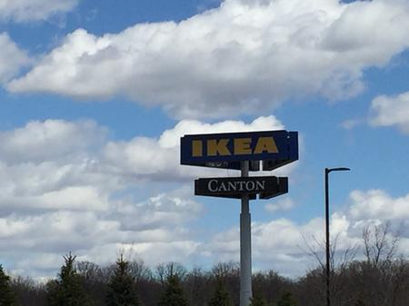 Ikea is a notable landmark in Canton.Jerome Vaughn