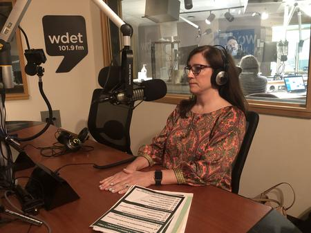 Detroit News K-12 education reporter Jennifer ChambersJake Neher/WDET