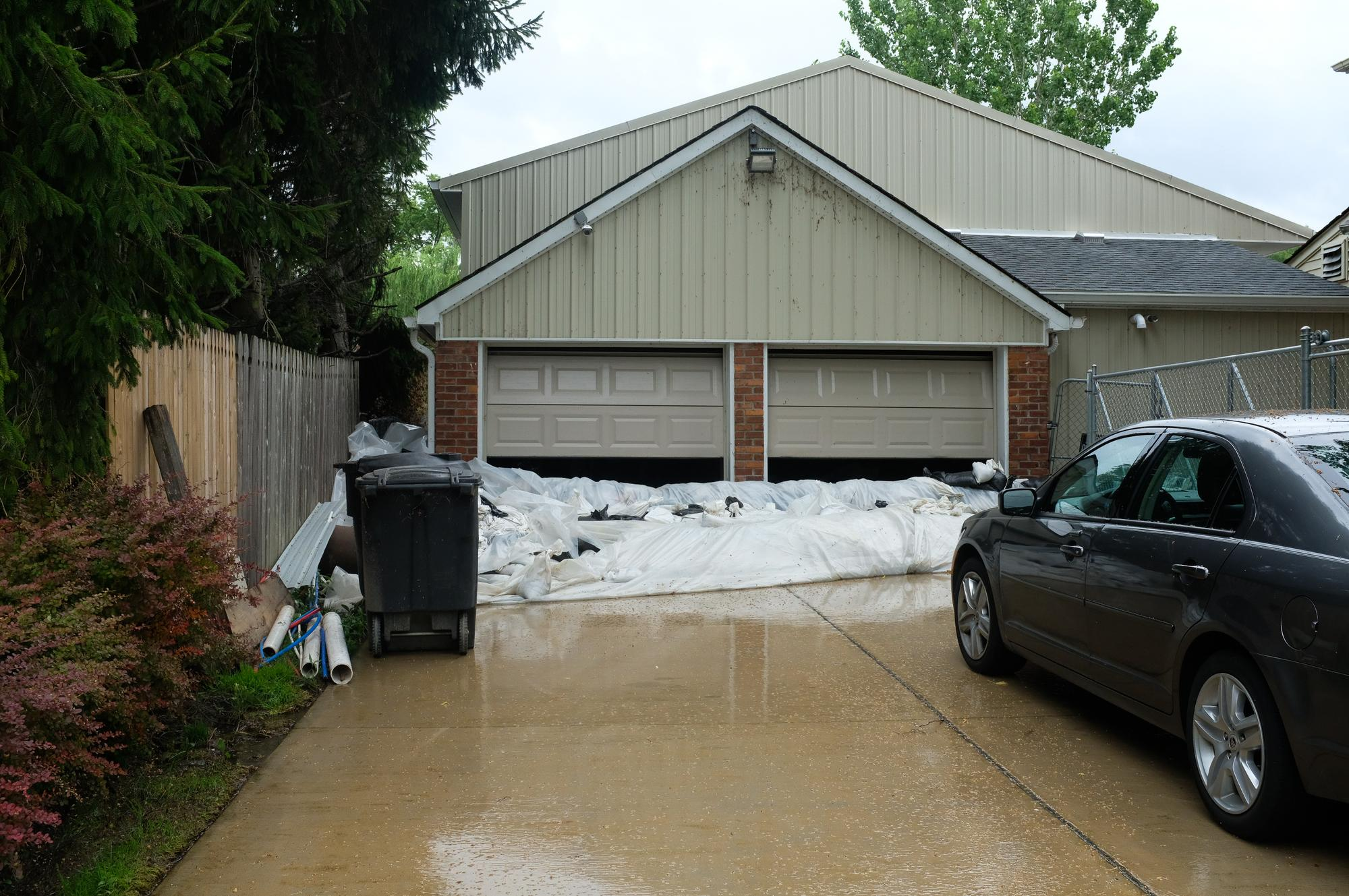 Residents say the city should do more to prevent water from getting into houses.Eli Newman