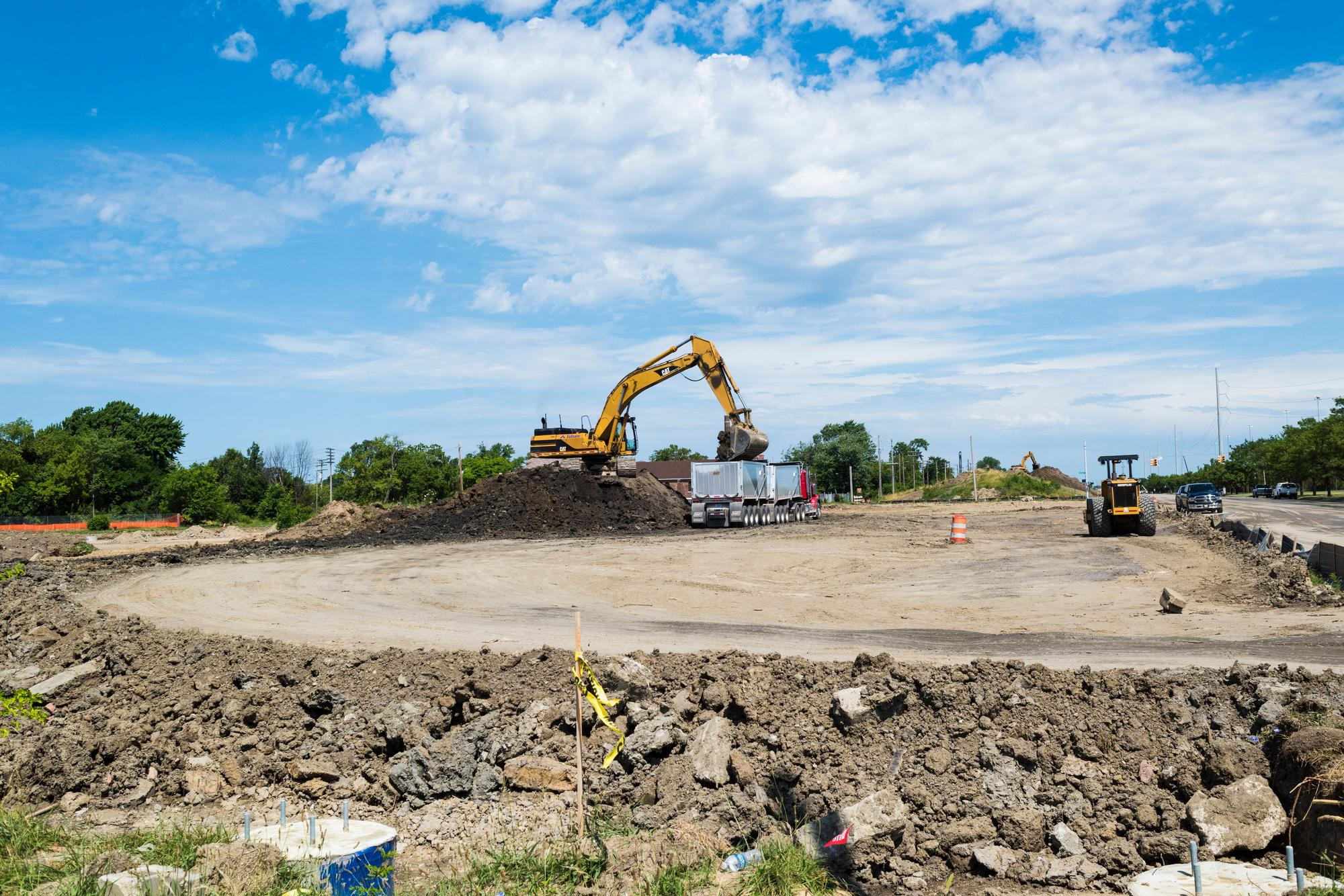 Construction has begun for the Fiat Chrysler expansion project.Rosa Maria Zamarrón