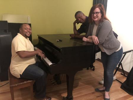 From left to right: Brandon Brice, Greg Bowens, and Nancy KafferJake Neher/WDET