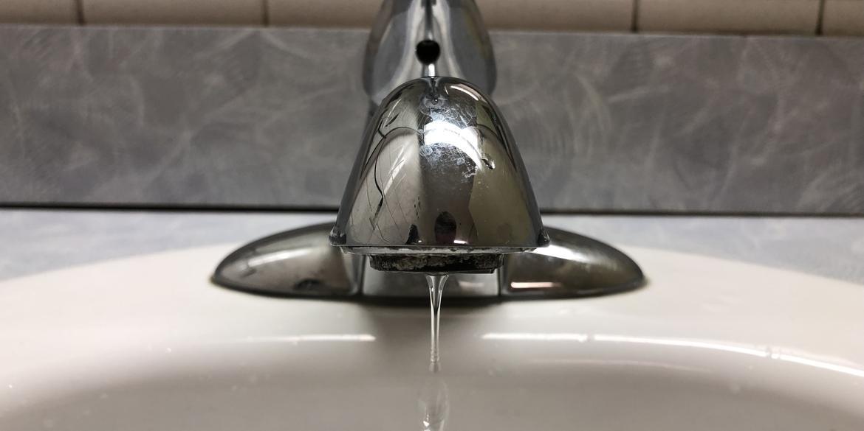 Water faucet, credit: Jake Neher/WDET