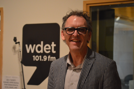 Chris Collins, Detroit Jazz Festival Foundation president and artistic director.Jake Neher/WDET