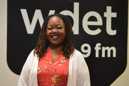Leseliey Welch, is currently leading the development team for Birth Detroit, a local wellness and birth center.Jake Neher/WDET