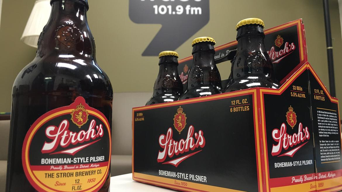 Stroh's Looks To Tap Into Michigan's Craft Beer Market With