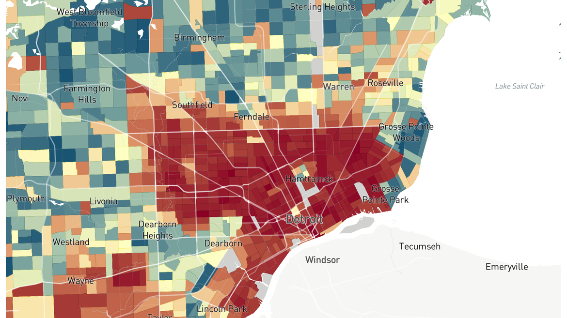 What Does Your Neighborhood Say About Your Chances for ... Chances Map on