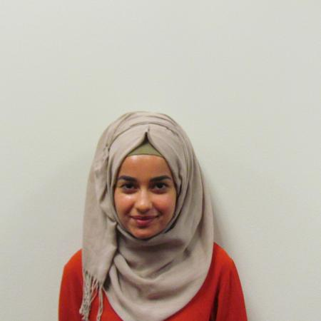 One of the storytellers, Iraqi student, Safa Hilal.Wayne State University