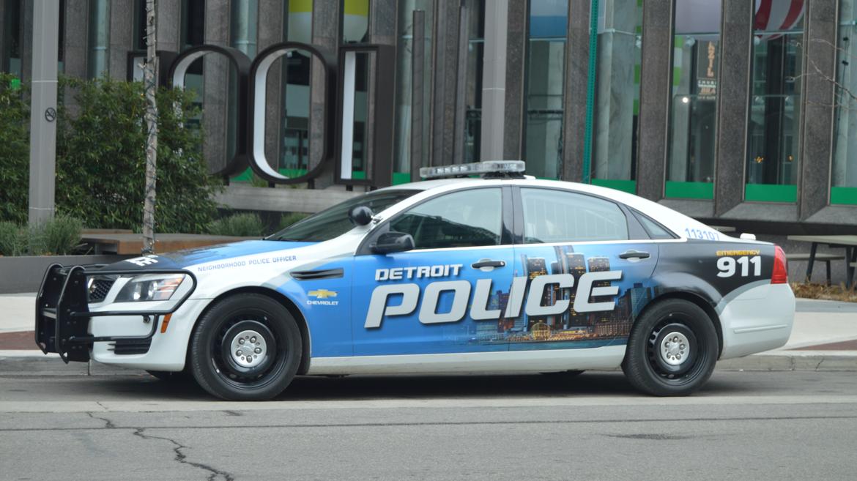 Detroit Police car, credit: Jake Neher/WDET
