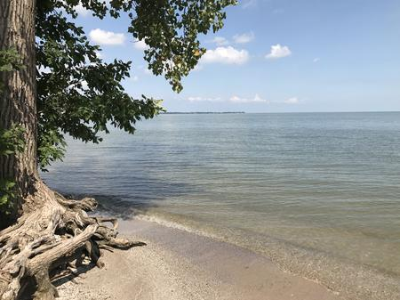 Lake Erie beach at Sterling State ParkPat Batcheller