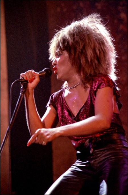 Tina Turner performing in 1985Helge Øverås