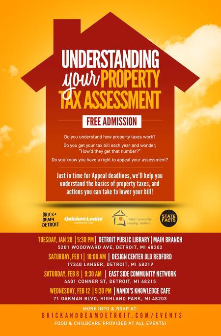 Detroit Non-Profit Hosts Property Tax Assessment Workshops